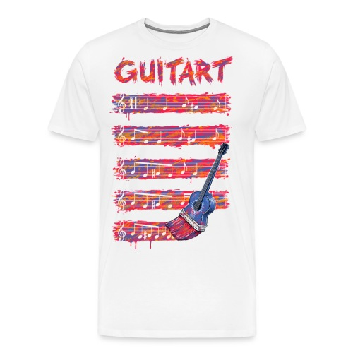 GuitArt - Men's Premium T-Shirt