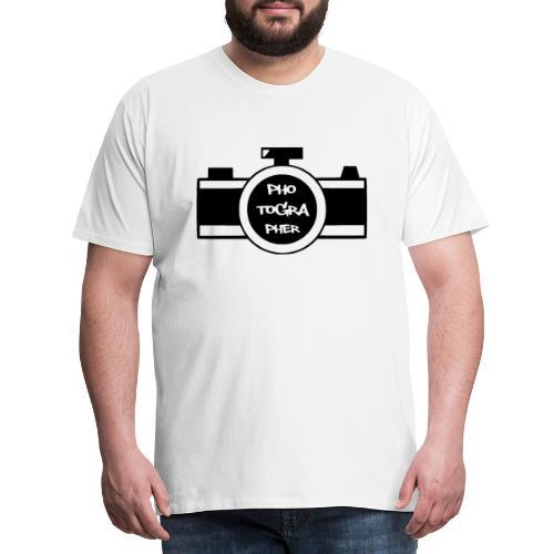 Photographer schwarz - Männer Premium T-Shirt