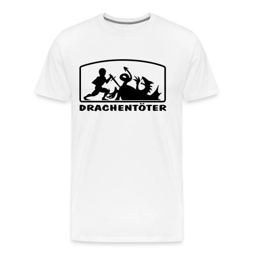 drachentoeter - Männer Premium T-Shirt