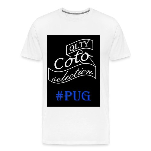 Pug version - Men's Premium T-Shirt