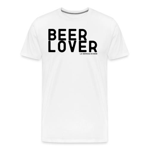 BEER LOVER - Camiseta premium hombre