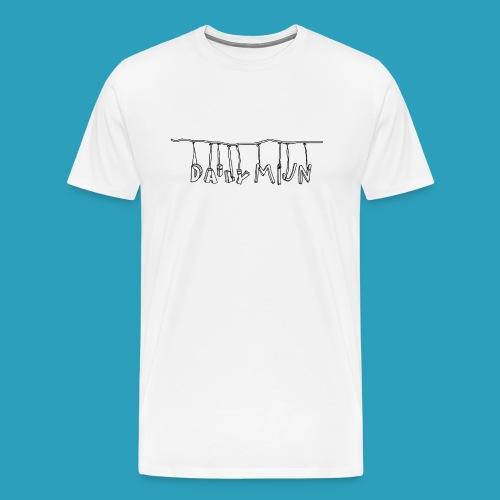 opnieuw png - Mannen Premium T-shirt