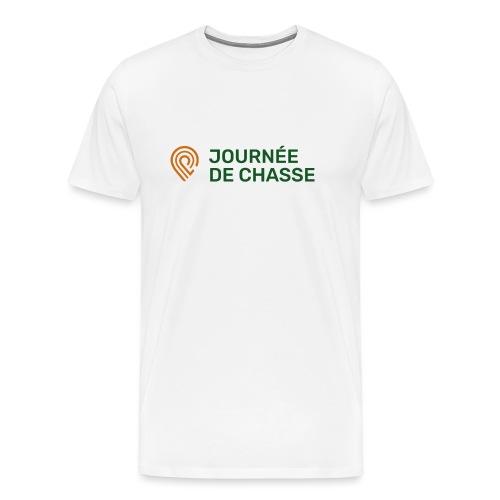 Journée de chasse - Logo couleur - T-shirt Premium Homme