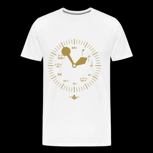 Noteclock - Männer Premium T-Shirt