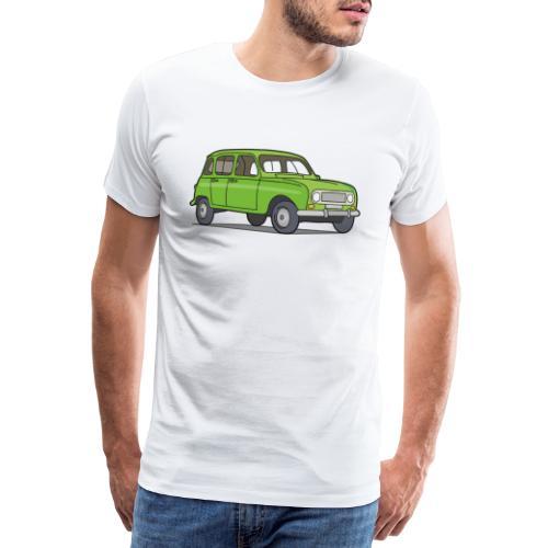 Grüner R4 (Auto) - Männer Premium T-Shirt