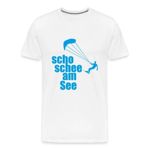scho schee am See Surfer 01 kite surfer - Männer Premium T-Shirt