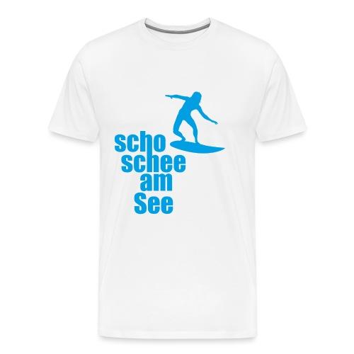 scho schee am See Surfer 04 - Männer Premium T-Shirt