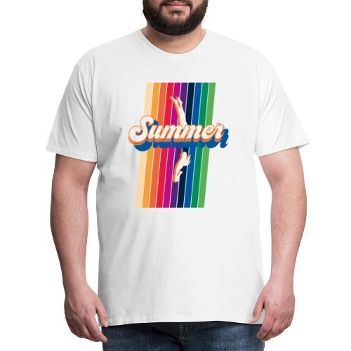 Summer Dive - Maglietta Premium da uomo