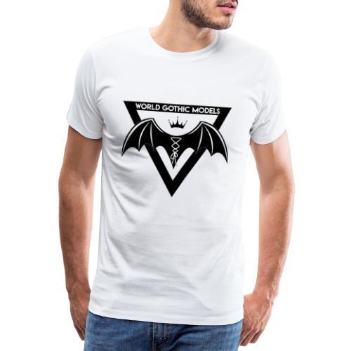 World Gothic Models Official Logo Design - Men's Premium T-Shirt