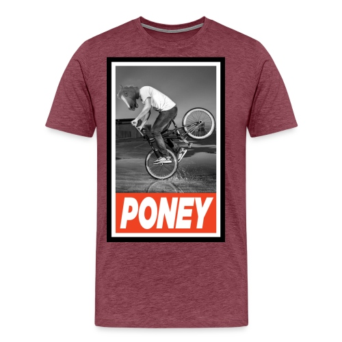 PONEY BMX jpg - T-shirt Premium Homme