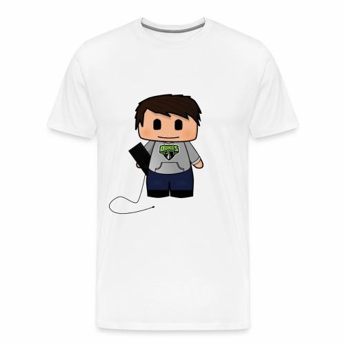 bitmap png - Herre premium T-shirt