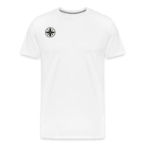 kreuz_schwarz - Männer Premium T-Shirt