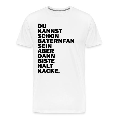bayernfan png - Männer Premium T-Shirt