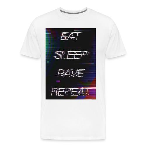 Eat Sleep Rave Repeat 1 - T-shirt Premium Homme
