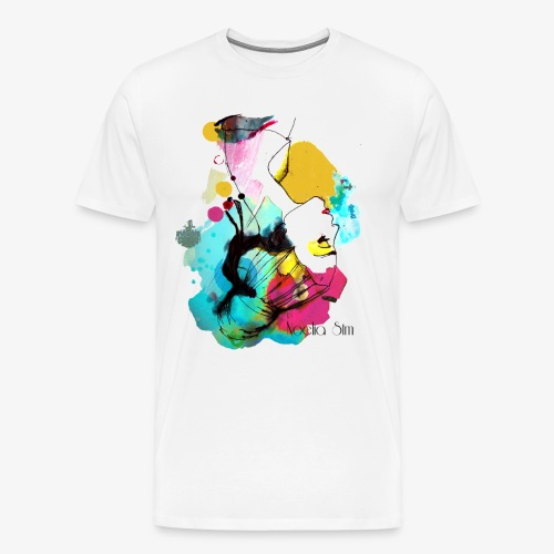 colour woman - Camiseta premium hombre