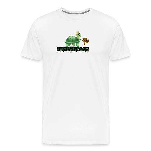 Turtle Neck Design 1 - Men's Premium T-Shirt