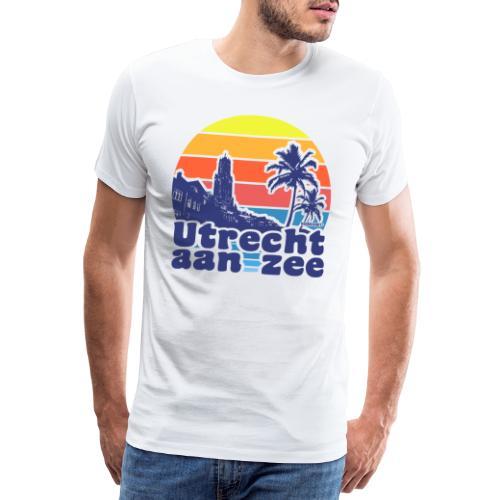 Utrecht aan zee - Mannen Premium T-shirt