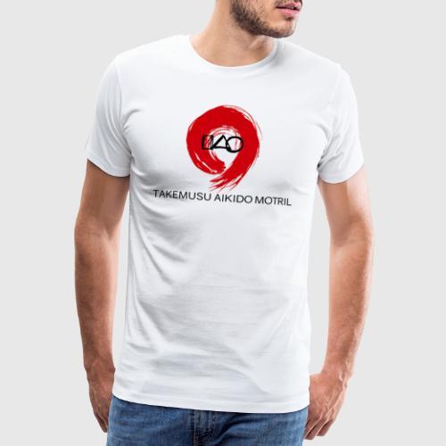 Takemusu Aikido Motril - Red Enso II - Men's Premium T-Shirt