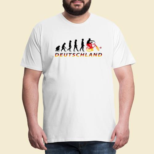 Radball | Evolution Deutschland - Männer Premium T-Shirt