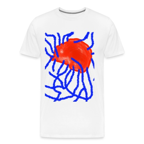 Red and Blue - Männer Premium T-Shirt