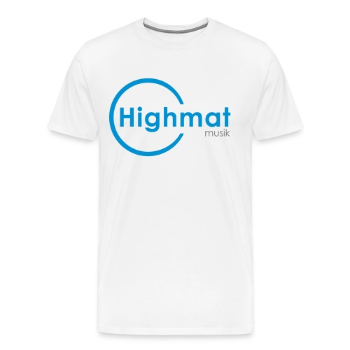 Highmatmusik Logo Shirt *SlimFit* - Männer Premium T-Shirt