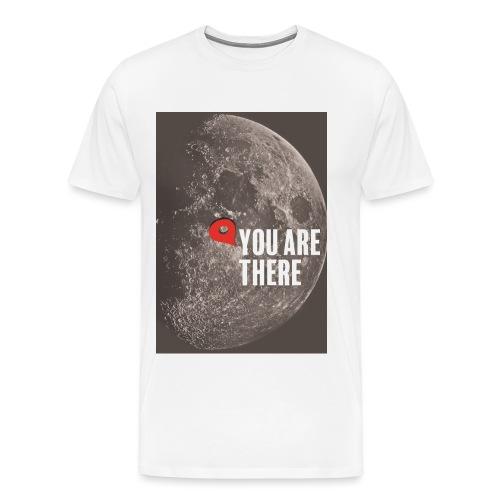 Dans la lune - T-shirt Premium Homme