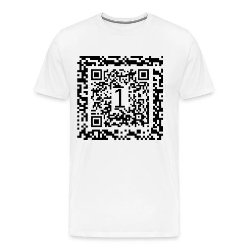 qr-code - Men's Premium T-Shirt