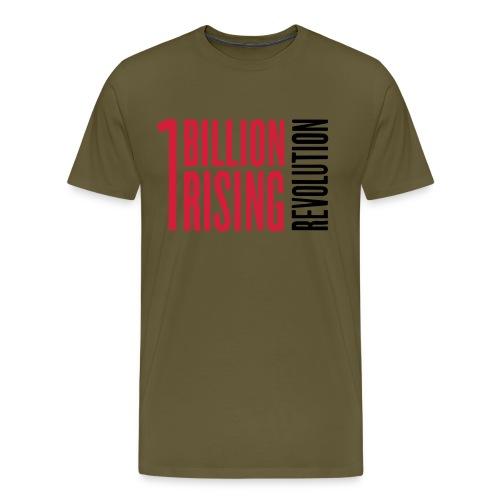 1br rev landscape st76902D - Men's Premium T-Shirt