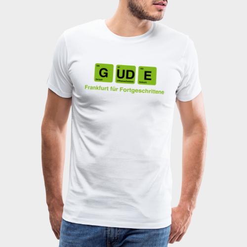 Frankfurt - GUDE - Männer Premium T-Shirt