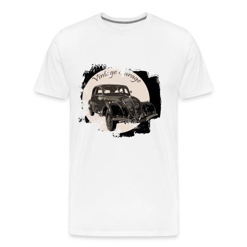 Vintage Garage 3 - T-shirt Premium Homme