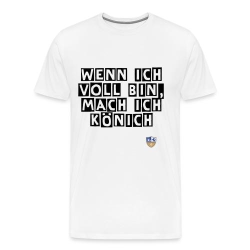 Spruch1 png - Männer Premium T-Shirt