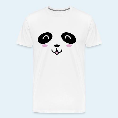 Cachorro panda (Cachorros) - Camiseta premium hombre