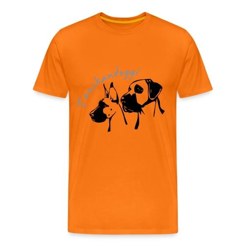 tanskandogit - Miesten premium t-paita