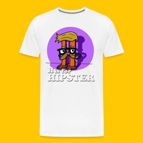 hipster4tee - Men's Premium T-Shirt