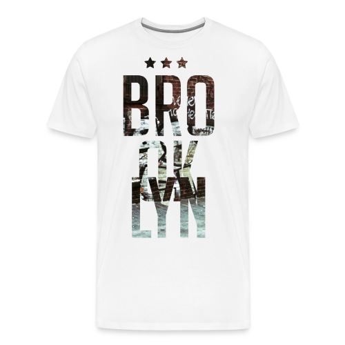 Brooklyn A - Men's Premium T-Shirt