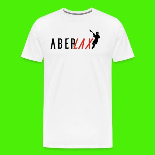 New-Aber-Lax-designbigger - Men's Premium T-Shirt