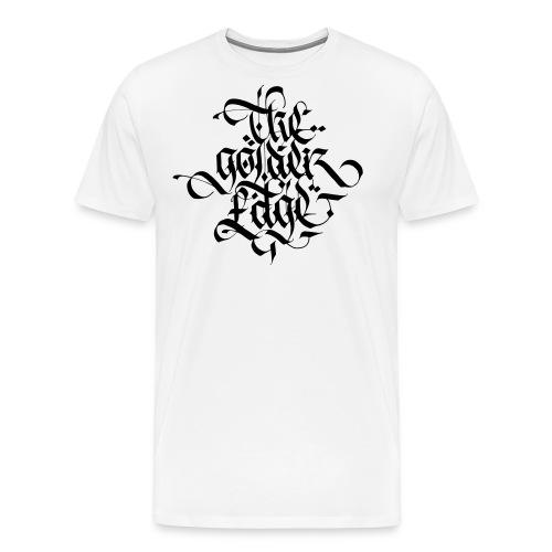 The Golden Edge Logo - Maglietta Premium da uomo
