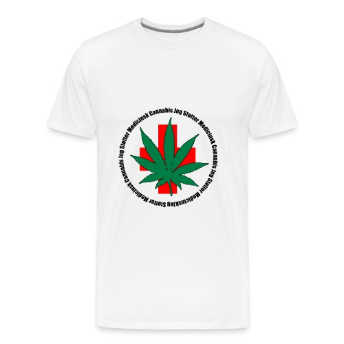 medicinsk png - Herre premium T-shirt