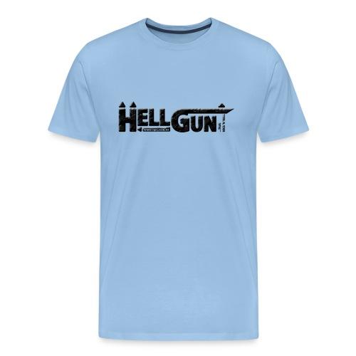 HELLGUN logo 2014 schwarz png - Männer Premium T-Shirt