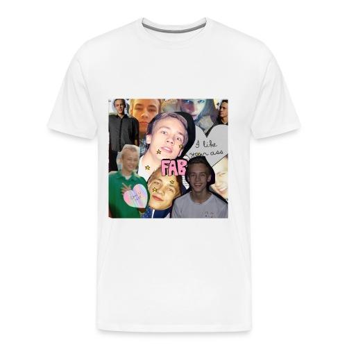 Calle png - Premium-T-shirt herr