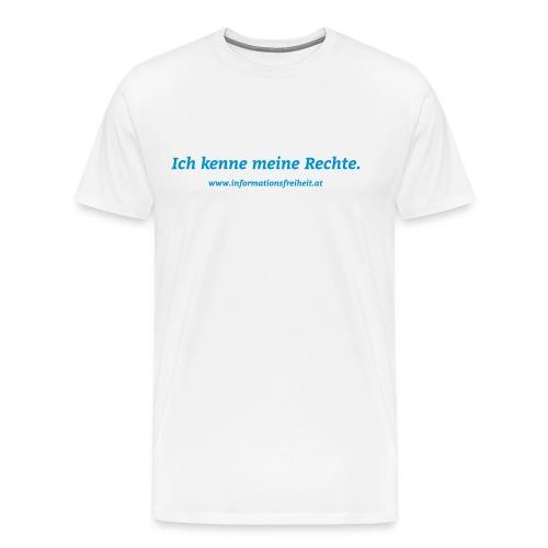 Ich kenne meine Rechte - Männer Premium T-Shirt