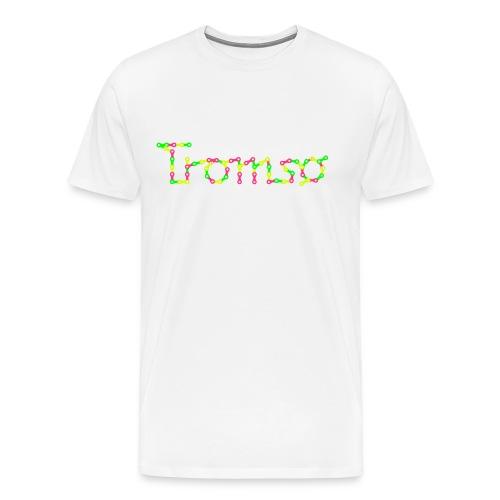 SYKKELTROMSØ - Premium T-skjorte for menn