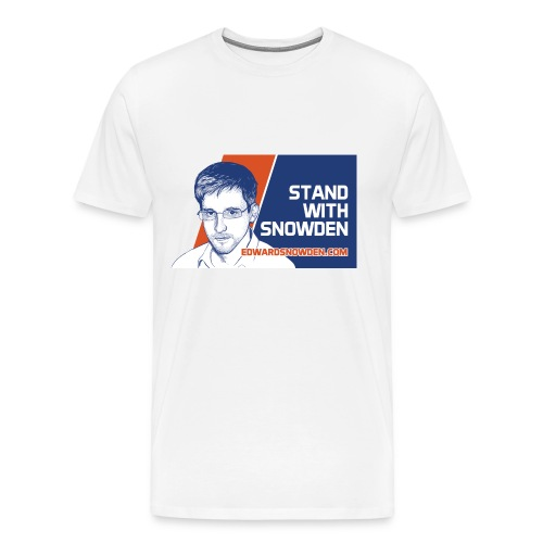 Stand With Snowden - Men's Premium T-Shirt