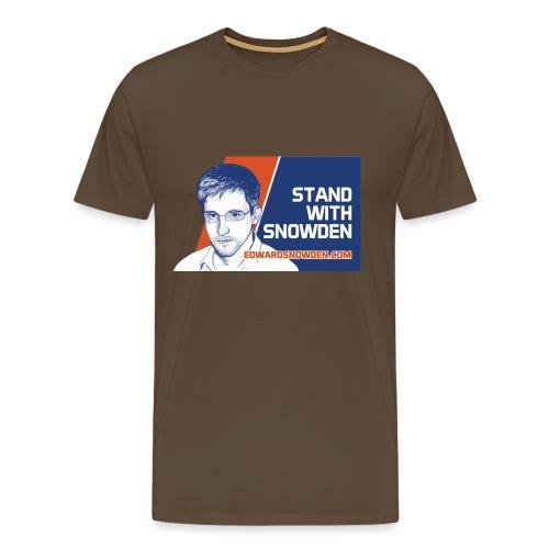 Stand With Snowden - Men's Premium T-Shirt