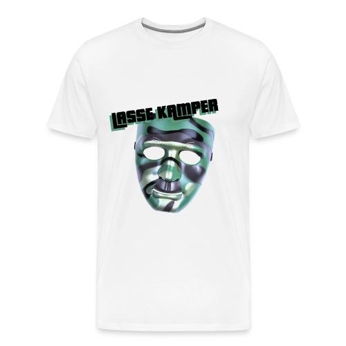 TRØJE LOGO STOR png - Herre premium T-shirt