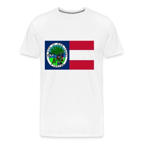 Florida 1861 color jpg - Männer Premium T-Shirt