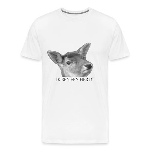 IK BEN EEN HERT jpg - Mannen Premium T-shirt