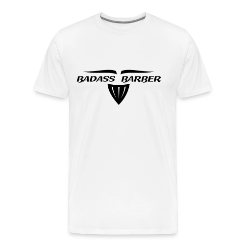 Barber T-Shirt logo 5 - Men's Premium T-Shirt