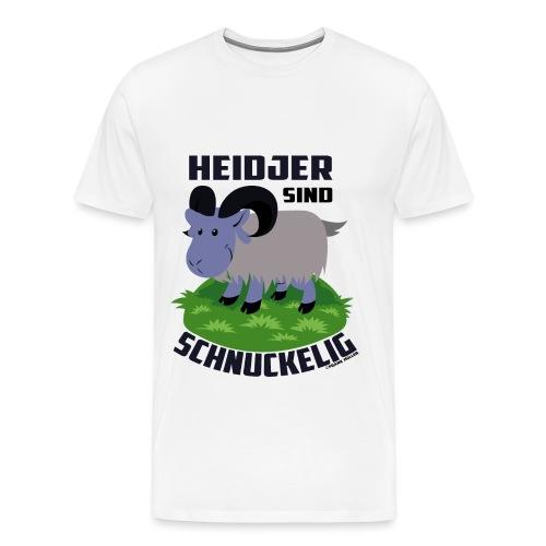 Heidschnucke Fiete - Männer Premium T-Shirt
