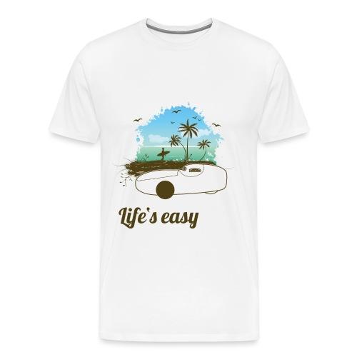 Life's easy Go-One K - Männer Premium T-Shirt